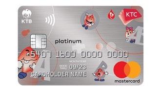 บัตรเครดิต เคทีซี ศูนย์บริการโลหิตแห่งชาติ สภากาชาดไทย แพลทินั่ม มาสเตอร์การ์ด